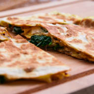 Spinat Quesadillas