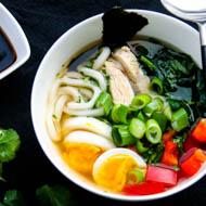 Misosuppe mit Noodles