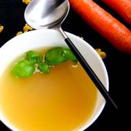 Grundrezept für Gemüsebrühe