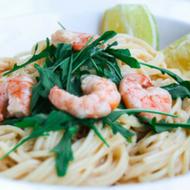 zitronen-spaghetti-mi-garnelen