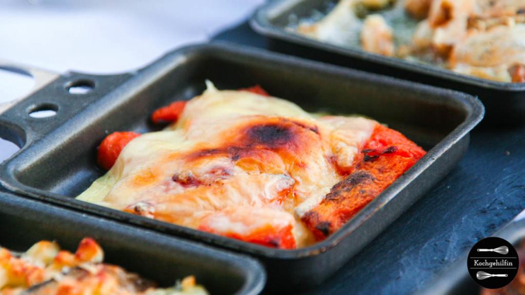 Kürbis-Raclettepfännchen