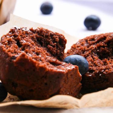 Schokoladen Bananen Muffin