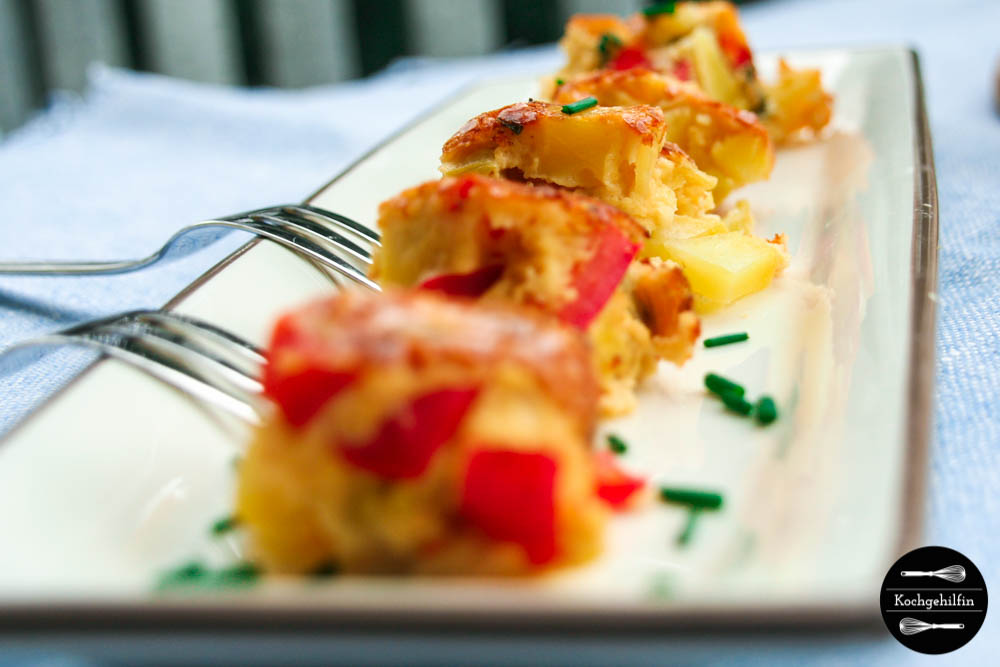 Tortilla mit Gemüse-3