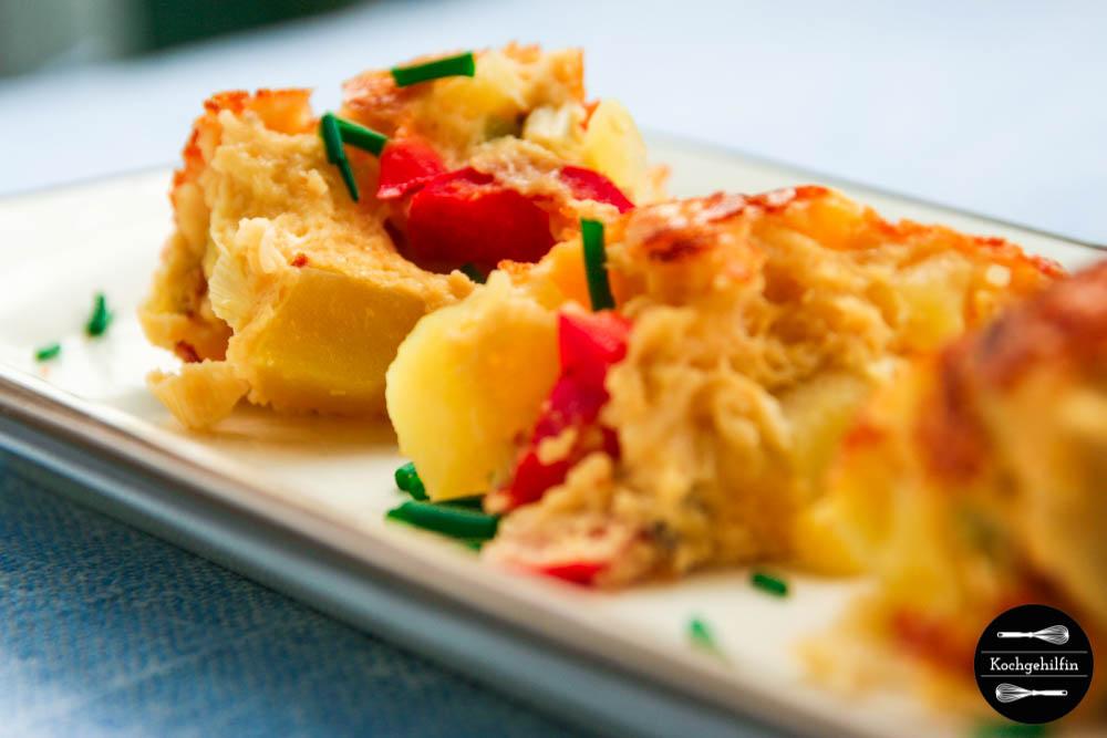 Tortilla mit Gemüse-4
