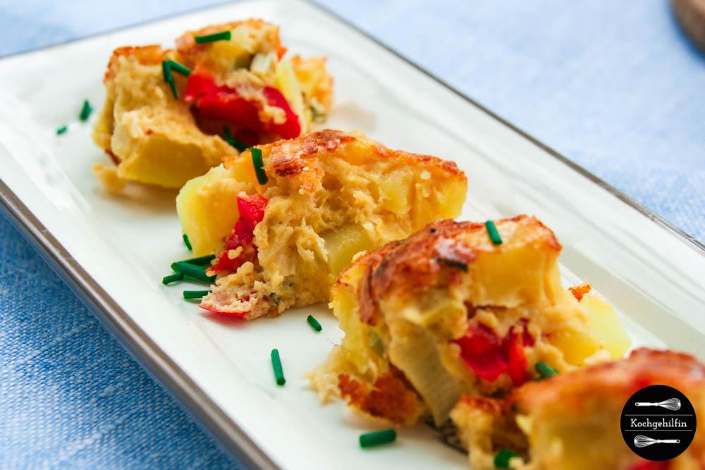 Tortilla mit Gemüse-5