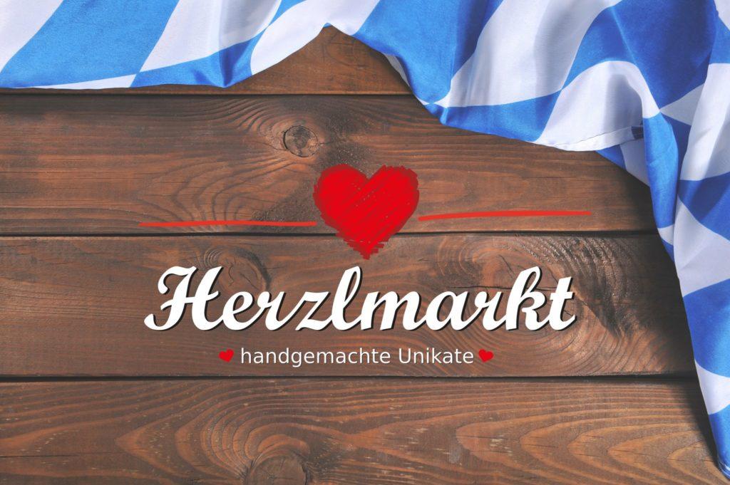 Banner für den 1. Herzalmarkt in München am 4. Dezember 2016