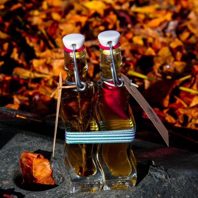 Chili- und Rosmarinöl