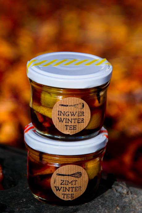 Ingwer-Winter-Tee Konzentrat