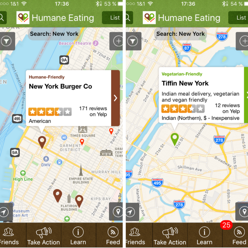 Top 8 free mobile food apps
