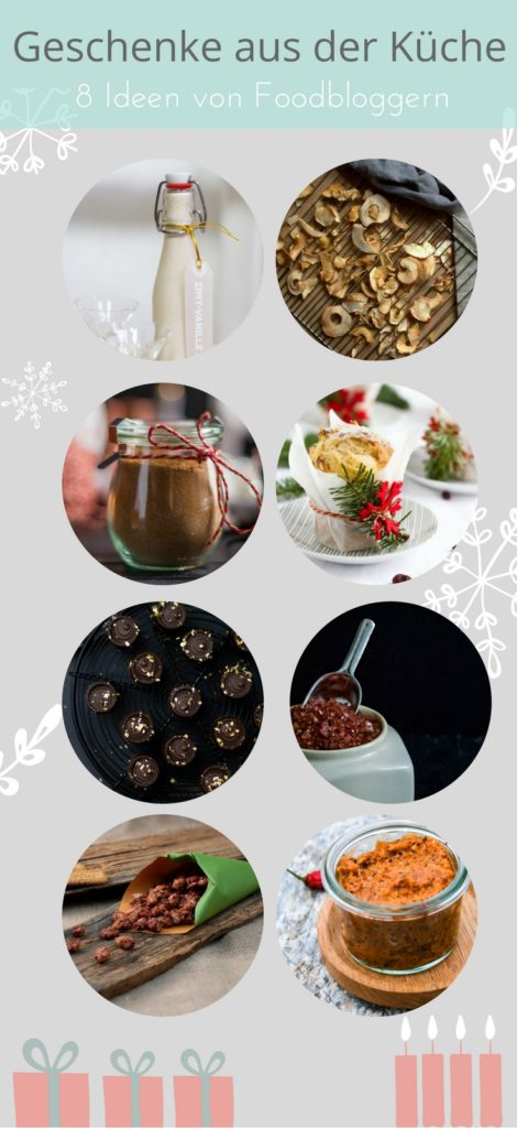 8 ideen für geschenke aus der küche von foodbloggern | kochgehilfin - Mitbringsel Aus Der Küche