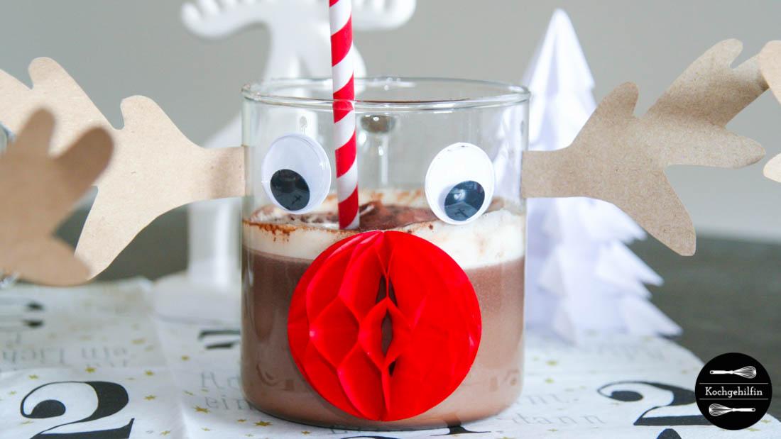 Heiße Schokolade mit Zimt
